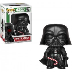 Star Wars POP! Vinyl Bobble Head Holliday Darth Vader 8 cm