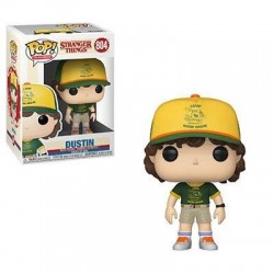 Stranger Things POP! TV Vinyl figurine Dustin (At Camp) 9 cm