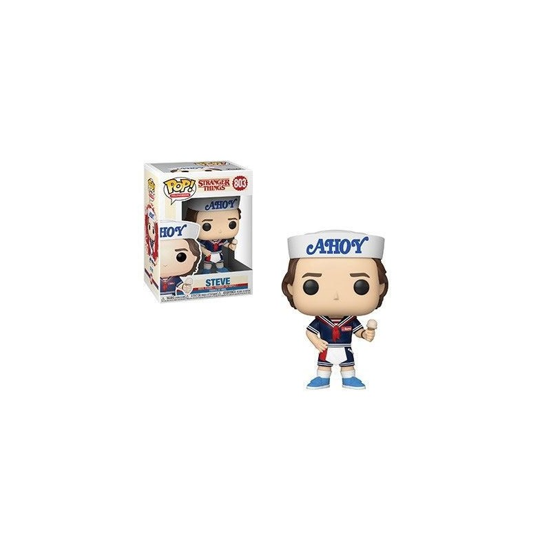 Stranger Things POP! TV Vinyl figurine Steve with Hat and Ice Cream 9 cm