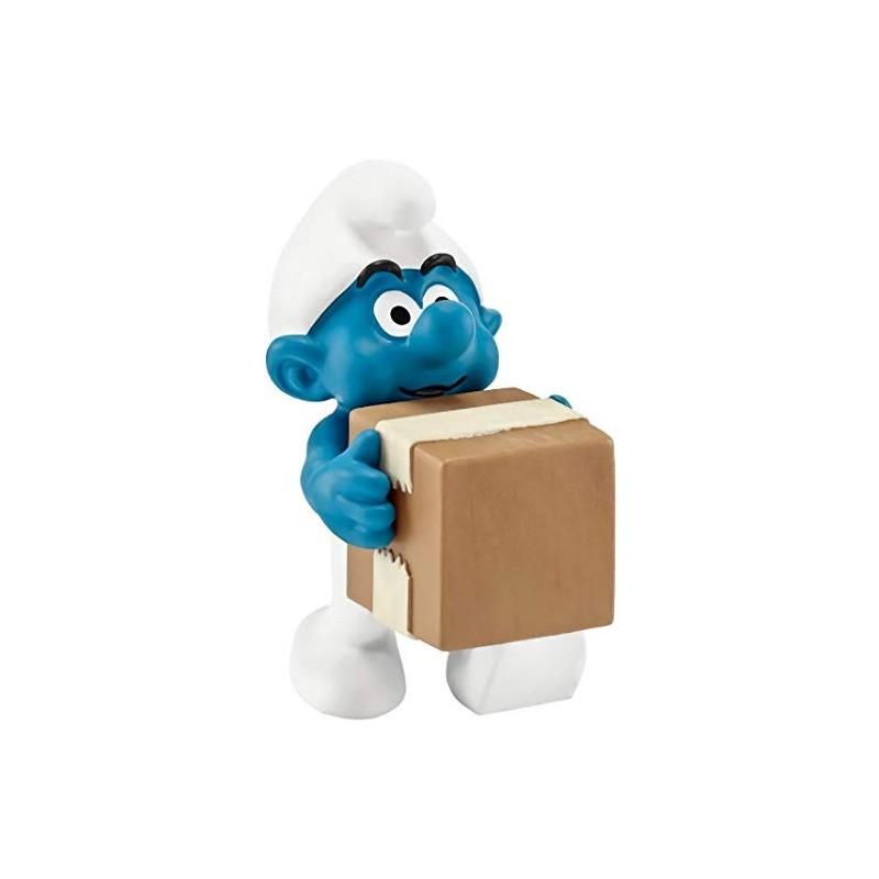 Les Schtroumpfs Figurine Schleich 20771 Le Livreur