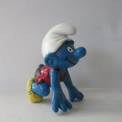 Les Schtroumpfs Figurine Schleich 20441 Courreur