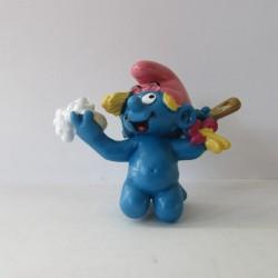 Les Schtroumpfs Figurine Schleich 20448 Schtroumpfette Dans Le Bain