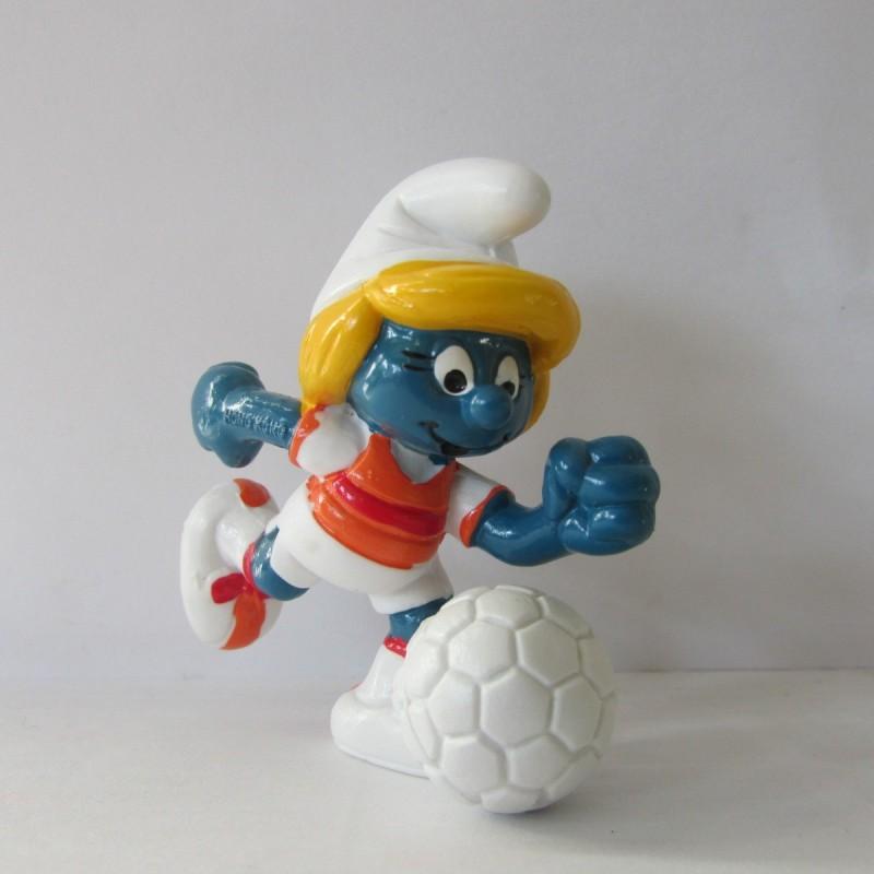 Les Schtroumpfs Figurine Schleich 20163 Schtroumpfette Foot