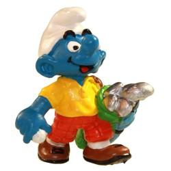 Les Schtroumpfs Figurine Schleich Blister  21015 Le Golfeur
