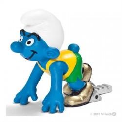 Les Schtroumpfs Figurine Schleich 20741 Le Sprinteur