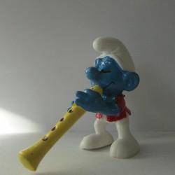 Les Schtroumpfs Figurine Schleich 20048 Flutiste