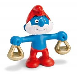 Les Schtroumpfs Figurine Schleich 20726 Balance