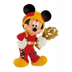 Figurine Disney Bullyland 15461 Mickey Pilote De Course