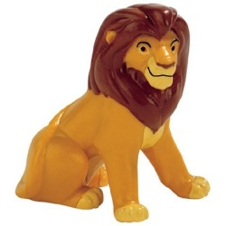 Figurine Disney Bullyland 12530 Simba Adulte  Assis