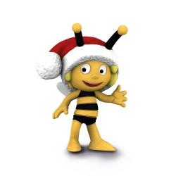Figurine Schleich Maya L'abeille 27007 Maya Bonnet De Noel