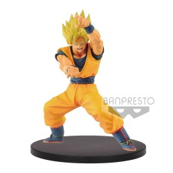 Dragonball Super statuette PVC Chosenshiretsuden Super Saiyan Goku 16 cm