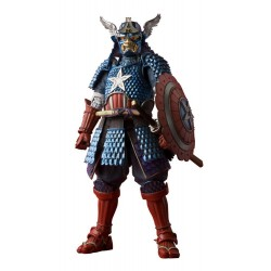 Marvel Comics figurine MMR Samurai Captain America Tamashii Web Exclusive 18 cm