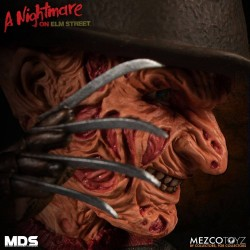Nightmare On Elm Street 3 figurine MDS Series Freddy Krueger 15 cm