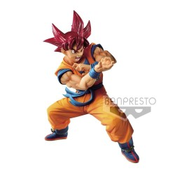 Dragonball GT statuette PVC Blood of Saiyans Super Saiyan God Son Goku 17 cm
