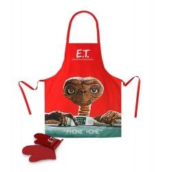 E.T. l´extra-terrestre Tablier avec Gant Phone Home