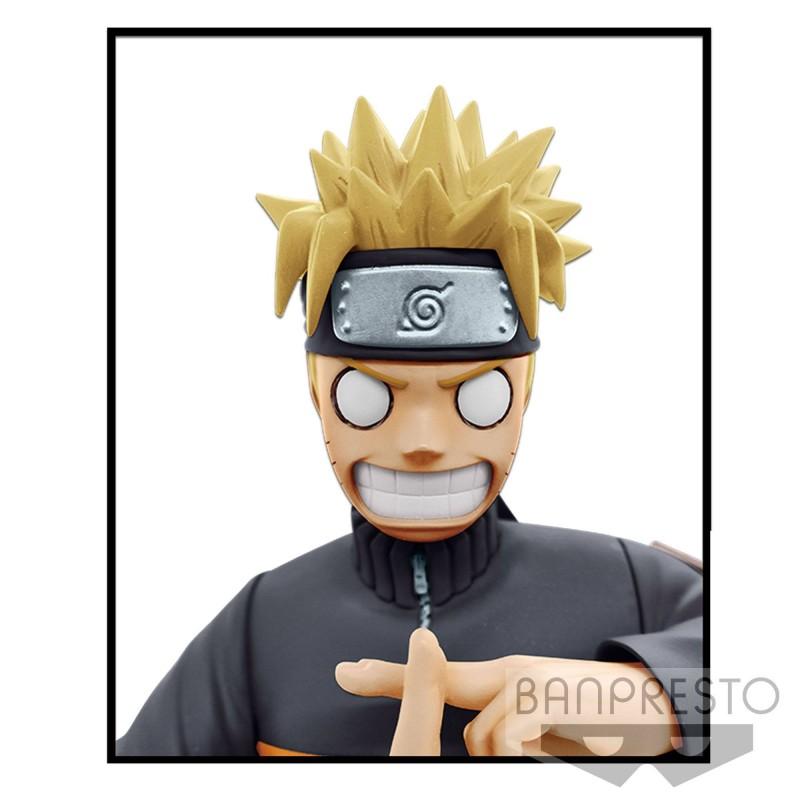 Naruto Shippuden figurine Grandista nero Uzumaki Naruto 23 cm