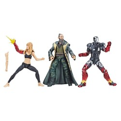 Iron Man 3 Marvel Legends Series pack 3 figurines Pepper, Mark XXII & Mandarin 15 cm