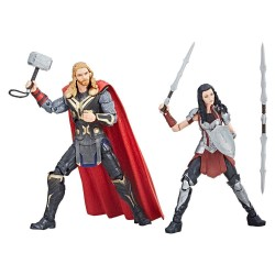 Thor : Un monde obscur Marvel Legends Series pack 2 figurines Thor & Sif 15 cm