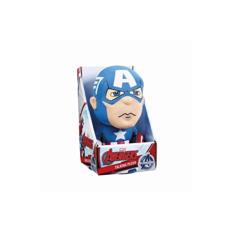 Marvel peluche parlante Captain America 23 cm *ANGLAIS*
