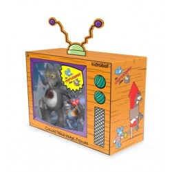 Simpsons pack 2 figurines Kidrobot Itchy & Scratchy 11-20 cm