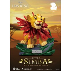 Disney (Le Roi Lion) statuette Master Craft Little Simba 31 cm