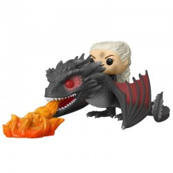 Game of Thrones POP! Rides Vinyl figurine Daenerys on Fiery Drogon 18 cm