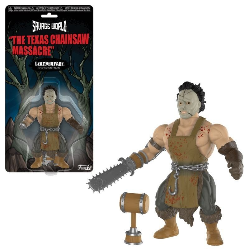 Massacre à la tronçonneuse figurine Savage World Leatherface 10 cm