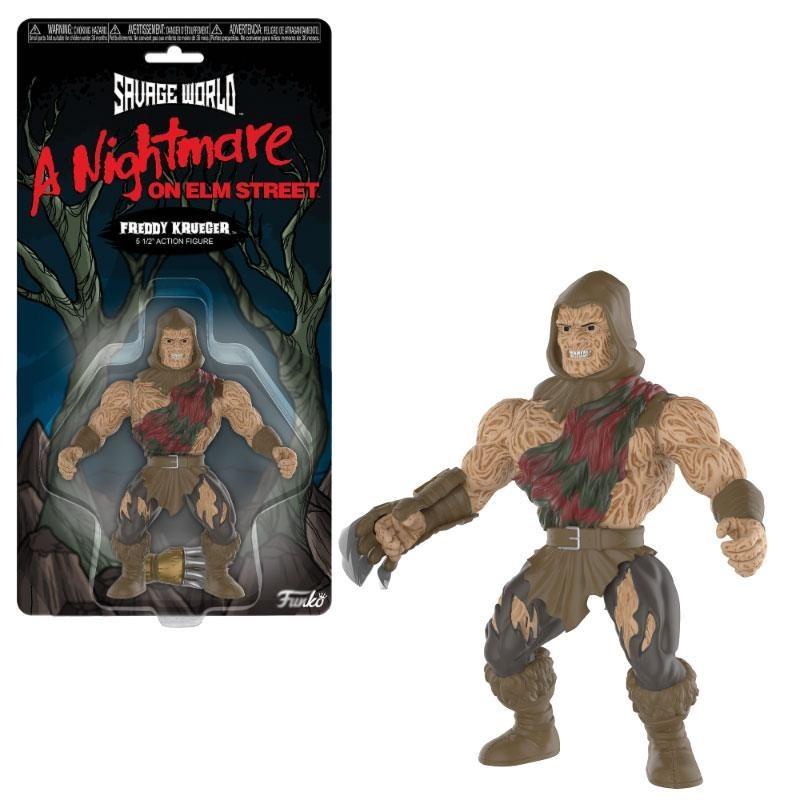 Freddy Les Griffes de la nuit figurine Savage World Freddy 10 cm
