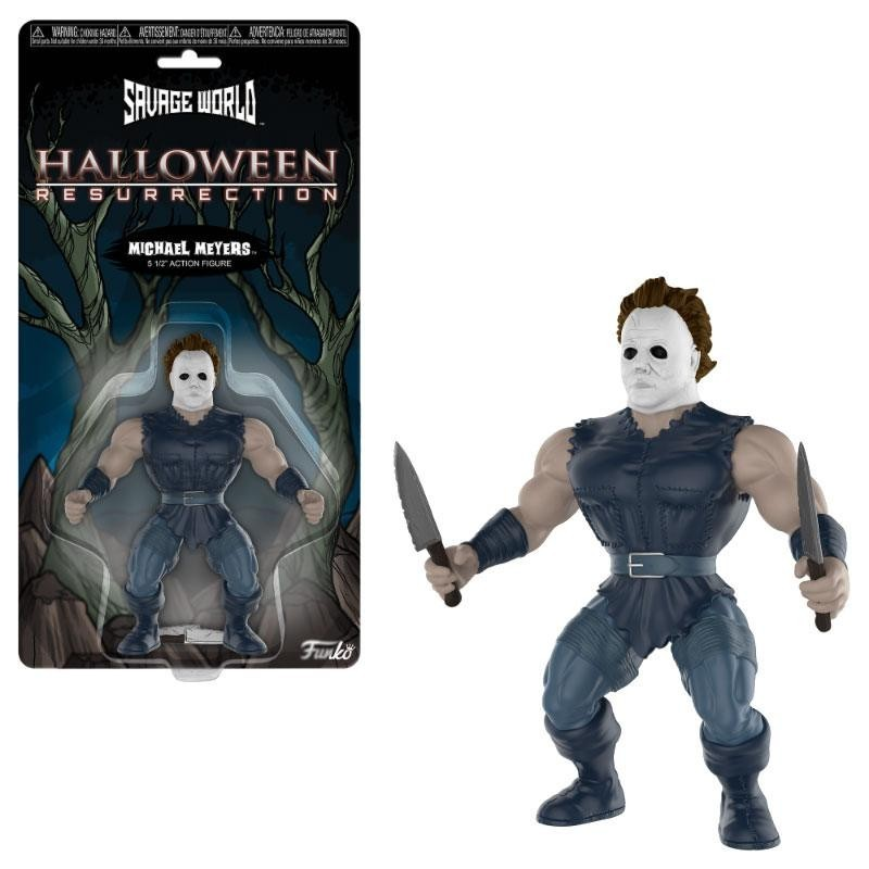 Halloween figurine Savage World Michael Myers 10 cm