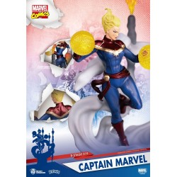 Marvel Comics diorama PVC D-Stage Captain Marvel 16 cm
