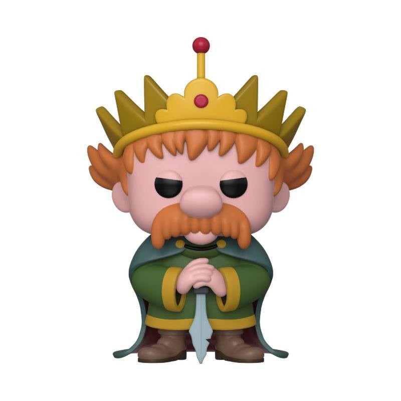 Désenchantée Figurine POP! Animation Vinyl King Zog 9 cm