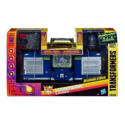 Transformers Bumblebee figurine Greatest Hits Soundwave & Doombox 23 cm Hasbro Dessins animés de notre enfance