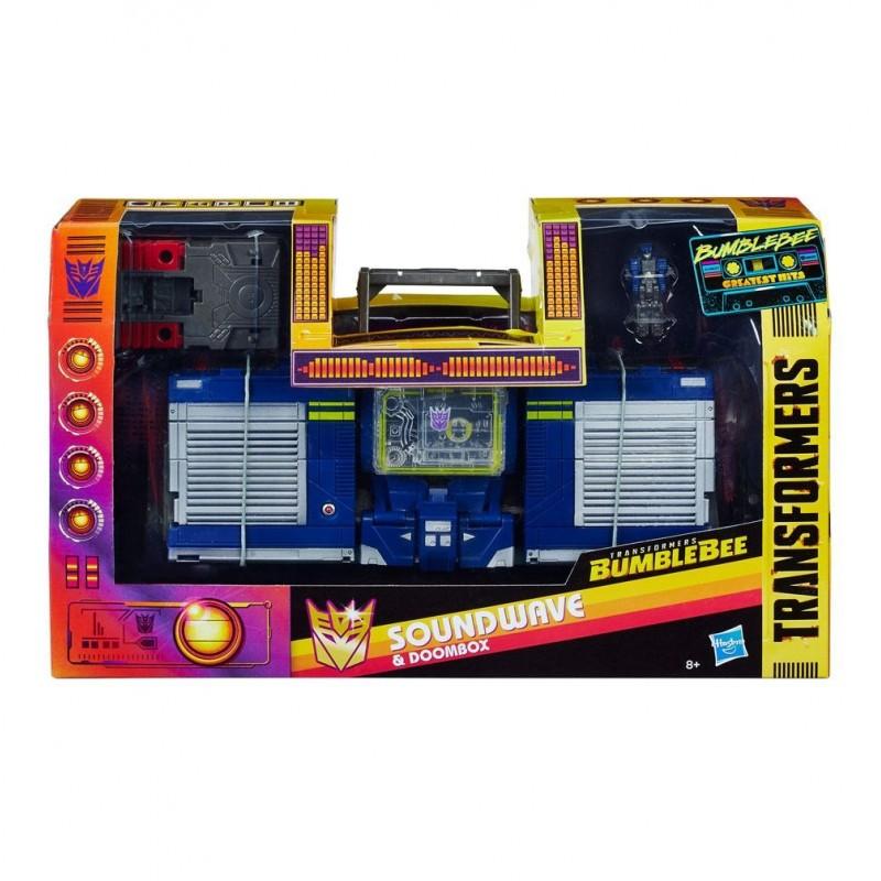 Transformers Bumblebee figurine Greatest Hits Soundwave & Doombox 23 cm