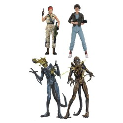 Aliens série 12 assortiment figurines 17-23 cm - 4 Figurines