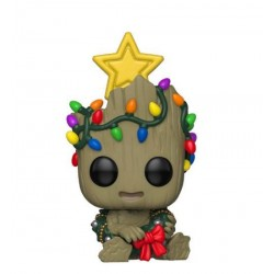 Marvel Holiday Figurine POP! Marvel Vinyl Groot 9 cm