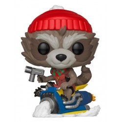 Marvel Holiday Figurine POP! Marvel Vinyl Rocket 9 cm