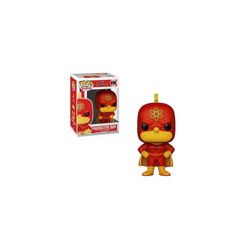 Simpsons Figurine POP! TV Vinyl Radioactive Man 9 cm