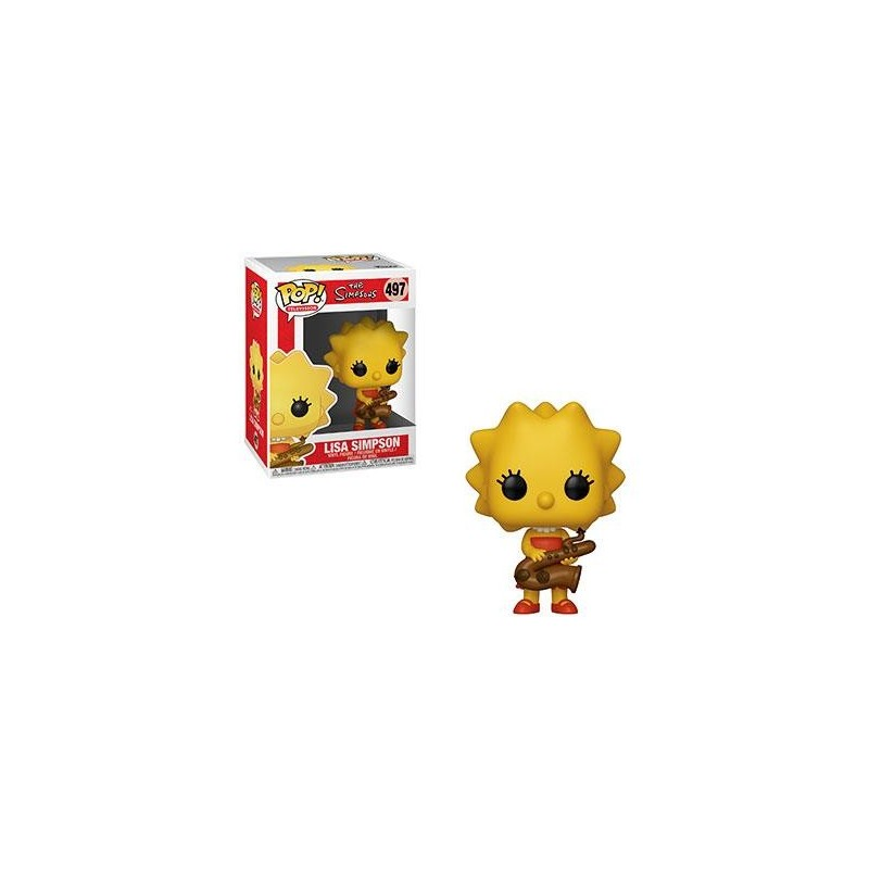 Simpsons Figurine POP! TV Vinyl Lisa 9 cm