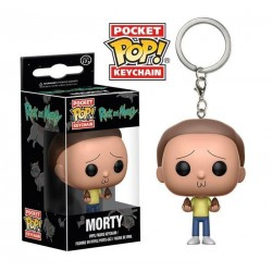 Rick et Morty porte-clés Pocket POP! Vinyl Morty 4 cm