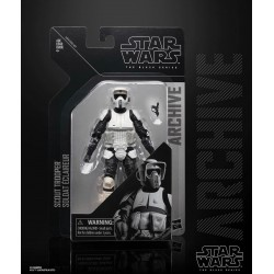 Star Wars Black Series Archive 2019 Wave 2 - Scout Trooper Hasbro Toute la gamme Black Series