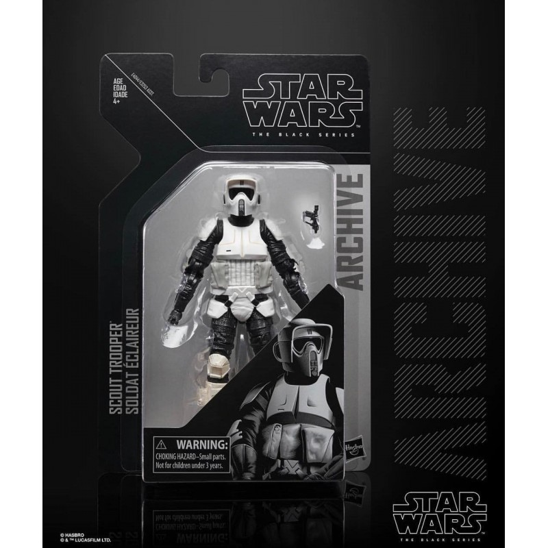 Star Wars Black Series Archive 2019 Wave 2 - Scout Trooper Hasbro Toute la gamme Black Series