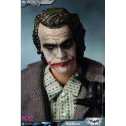 The Dark Knight figurine 1/12 The Joker (Bank Robber Version) 17 cm