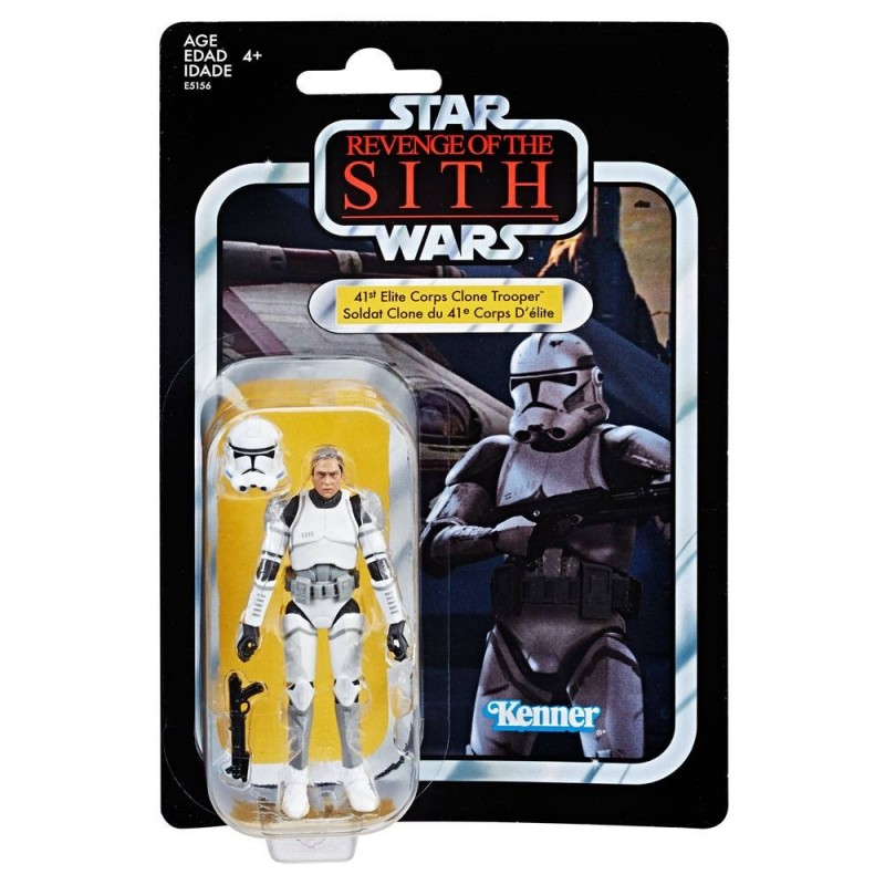 Star Wars EP III Vintage Collection figurine 2019 41st Elite Corps Clone Trooper Exclusive 10 cm