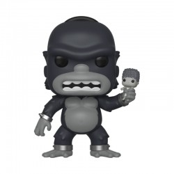 Simpsons Figurine POP! TV Vinyl King Kong Homer 9 cm