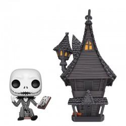 L´étrange Noël de Mr. Jack POP! Town Vinyl figurine Jack & Jack's House 9 cm