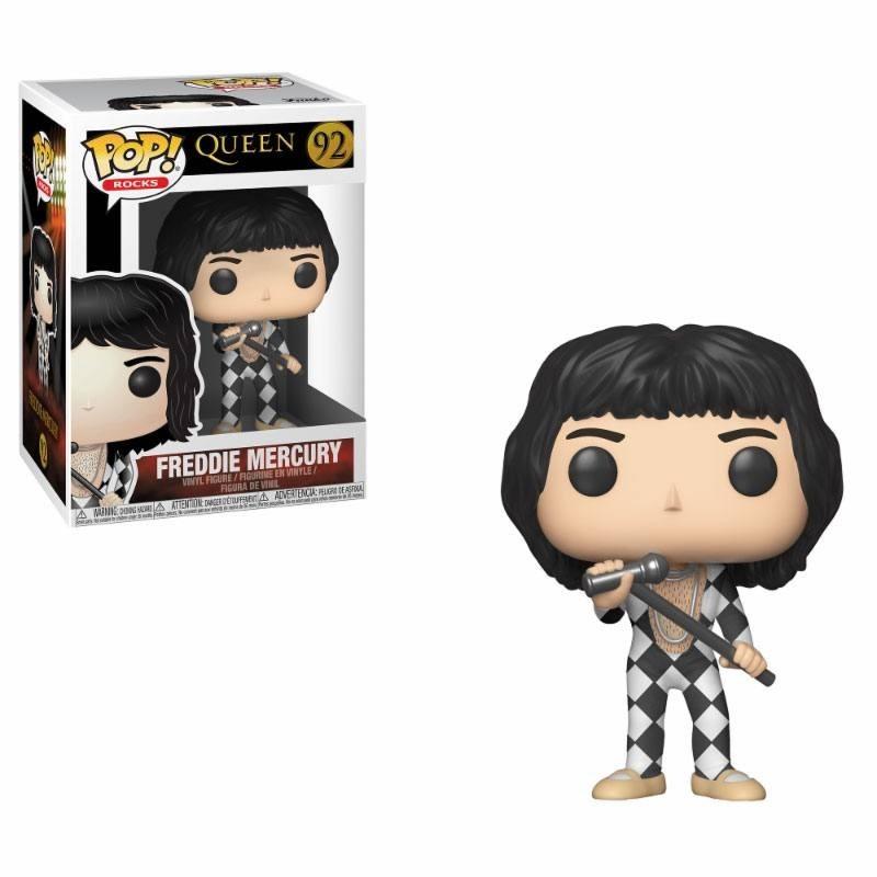 Queen POP! Rocks Vinyl Figurine Freddie Mercury 9 cm