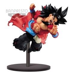 Super Dragon Ball Heroes statuette PVC Super Saiyan 4 Son Goku Xeno 9th Anniversary 14 cm