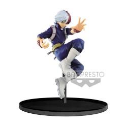 My Hero Academia statuette PVC Colosseum Billboard Charts Shoto Todoroki Ver. A 17 cm