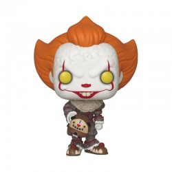 Ça (It) 2 POP! Movies Vinyl figurine Pennywise (Beaver Hat) 9 cm