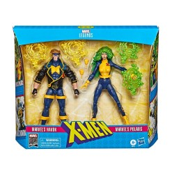 Marvel Legends 80th Anniversary pack 2 figurines X-Men Havok & Polaris 15 cm Hasbro Tout L'univers Marvel